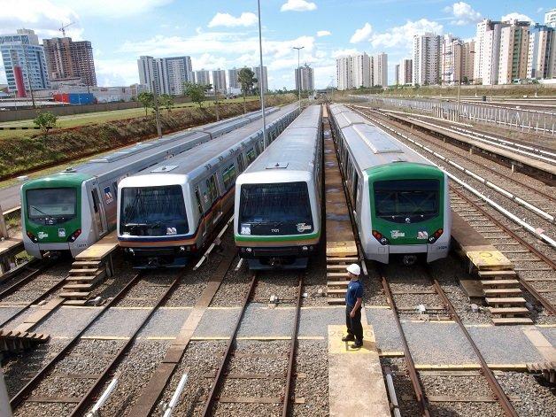 Estação de metrô no DF é a primeira da América Latina a usar energia solar